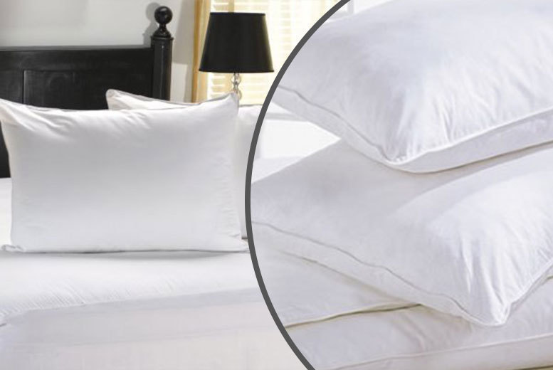 luxury duck feather pillows