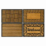 Coir And Rubber Door Mat 40cm x 60cm