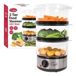 3-Layer Compact Food Steamer