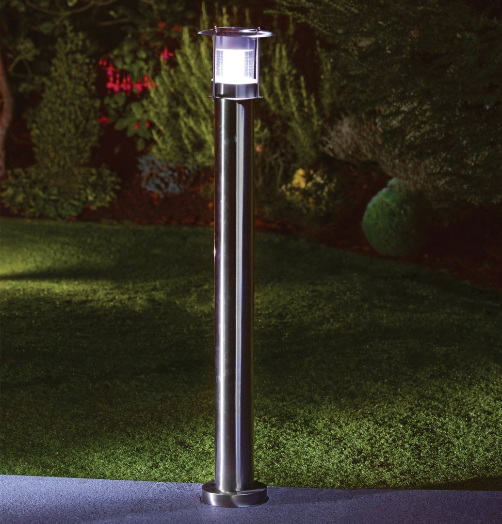 How To Brighten Up A Dark Kitchen Stainless Steel Solar Post Light Homevibe