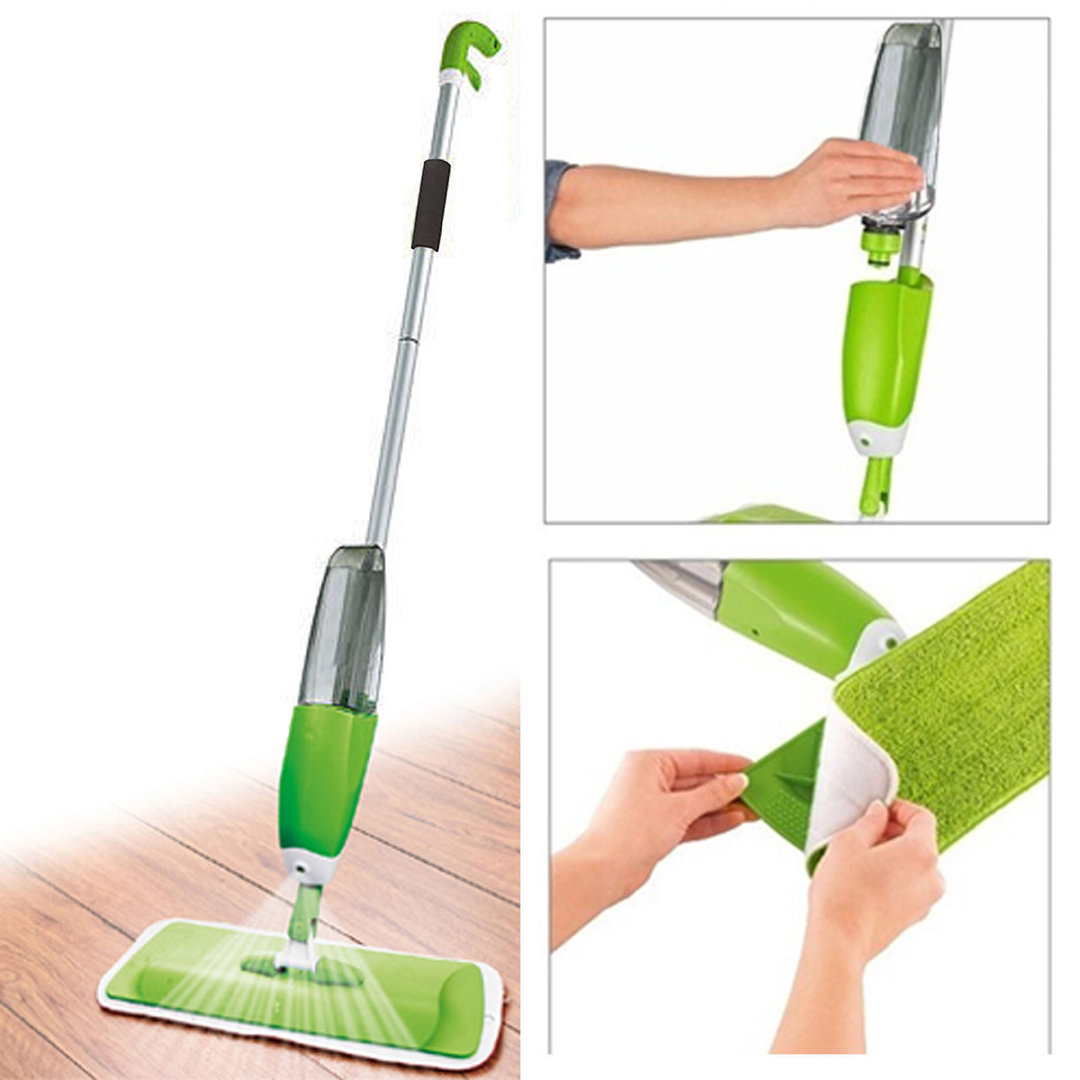 700ml spray mop homevibe for Mop for floor wipes