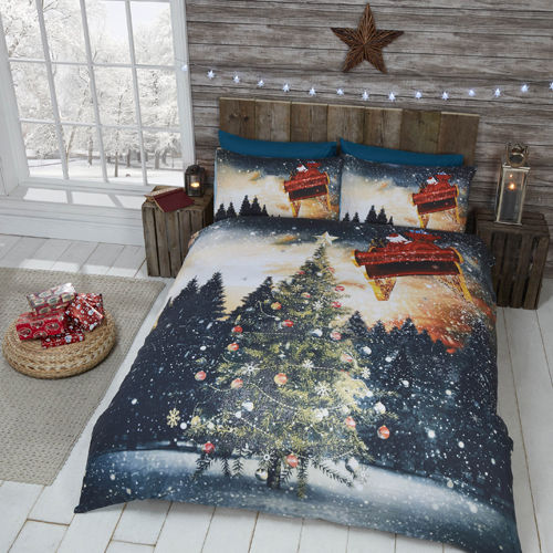 NORTHERN LIGHTS CHRISTMAS DUVET SET