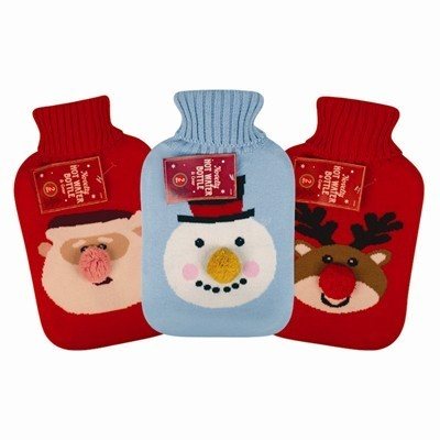 Christmas Hot Water Bottle 2L