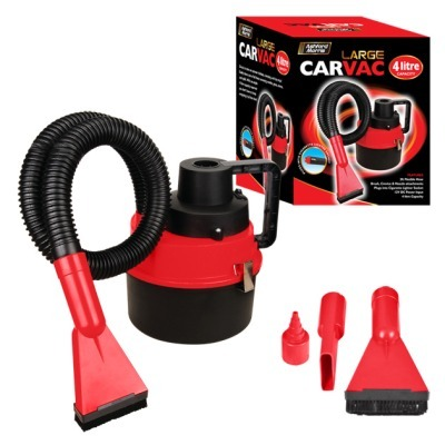 Wet & Dry Portable Car Vacuum