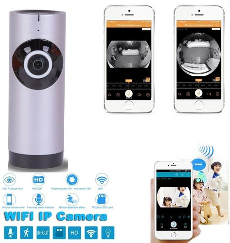 Panoramic View Home Security Camera