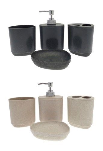 4 Piece Bathroom Accessory Sets