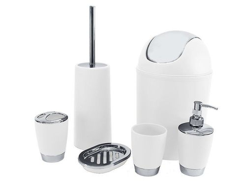 6pc Bathroom Accessory Set