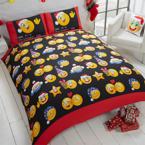 Christmas Icons Duvet Set