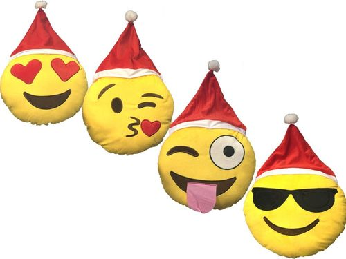 Christmas Emoji Cushions