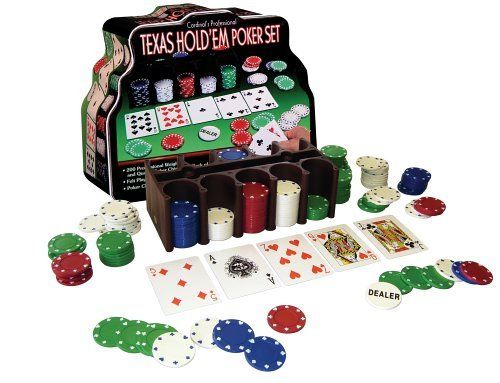 Texas Hold'em Poker Set - 206 piece