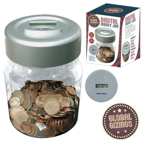 Digital Money Jar