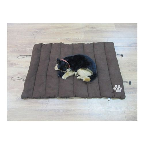 Faux Suede Travel Pet Bed