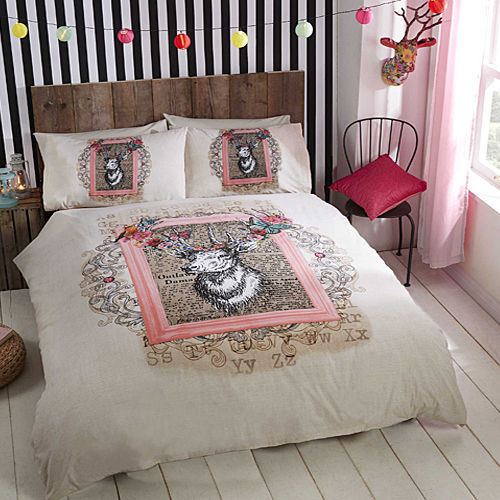 ECLECTIQUE DUVET SET ANTIQUE STAG