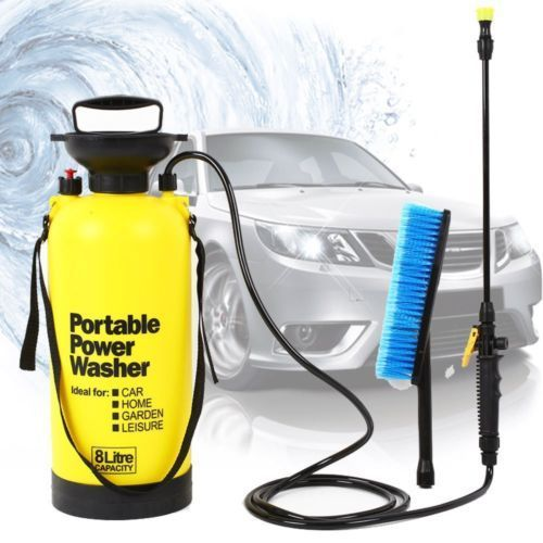 8L Portable Pressure Washer