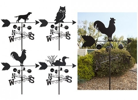 GARDEN ANIMAL WEATHER VANES