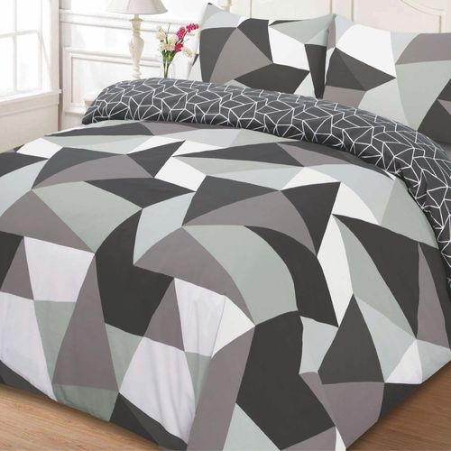 Monochrome Shapes Duvet Set