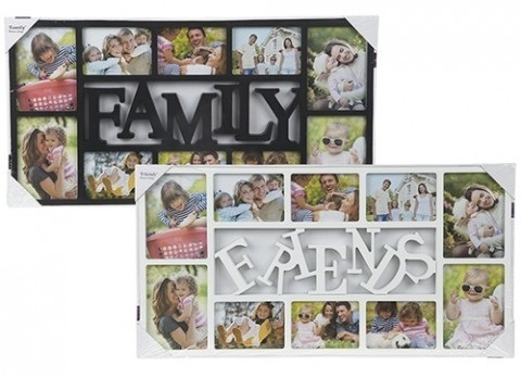 Family and Friends Modern Photo Frame