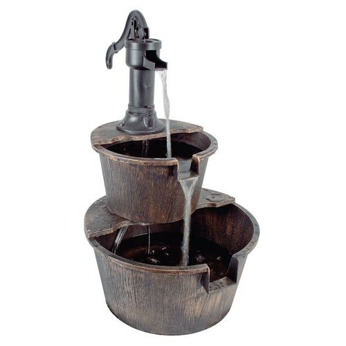 2 Tier Barrel Fountain