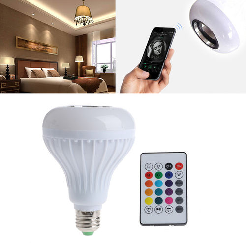 Bluetooth Flashing Light Bulb Speaker