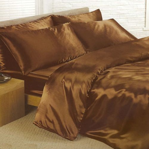 6 Piece Satin Sheet Sets