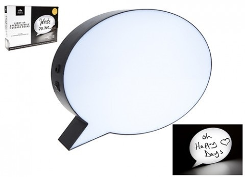 SPEECH BUBBLE MESSAGE BOARD