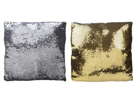 MAGIC CHANGE SEQUIN CUSHION