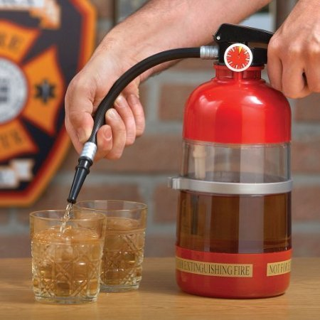 Fire Extinguisher Drinks Dispenser