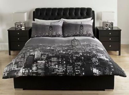 Cityscape Bed Linen Set