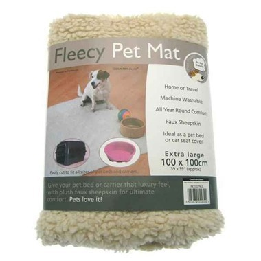 Jumbo Fleecy Pet Mats