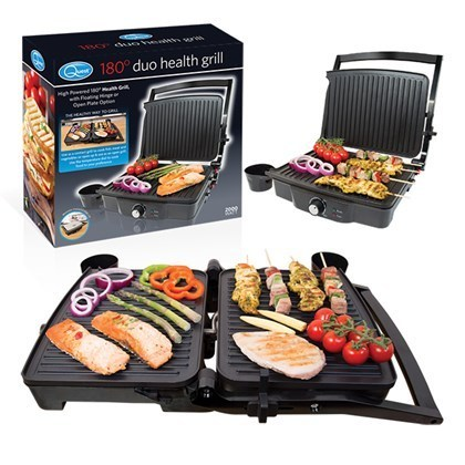 180° DUO HEALTH GRILL PRESS OR OPEN GRILL