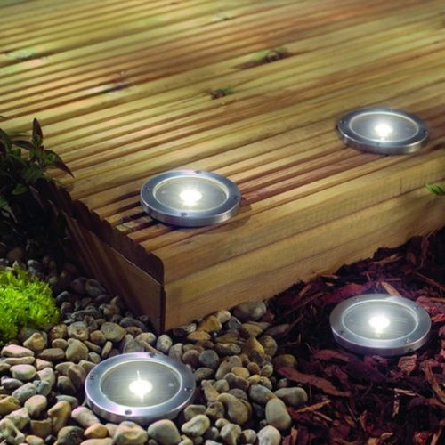 2PK Stainless Steel Ground Light