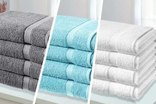4 Luxury Cotton 500GSM Bath Sheets