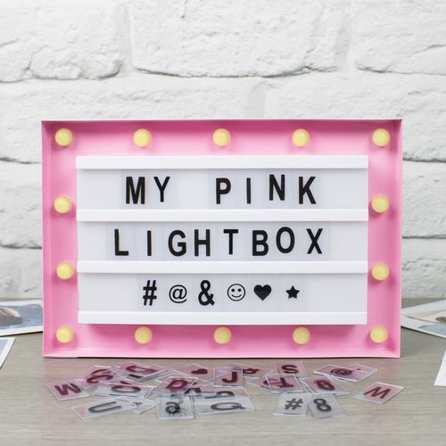 LED Marquee Lightbox