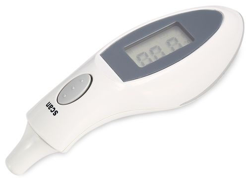Infrared Ear Thermometer - White