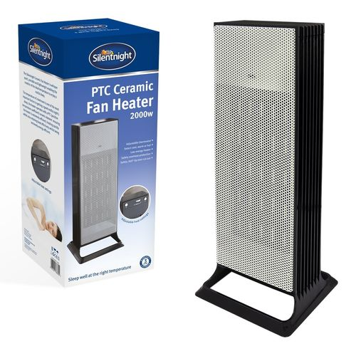 Silentnight Tower PTC Ceramic Heater - 2000w